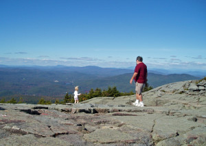 "The open rocky summit of Mount Kearsarge in New Hampshire is a wonderful ""first"" mountain for a budding climber."