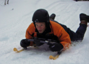 The Hammerhead Sled in action