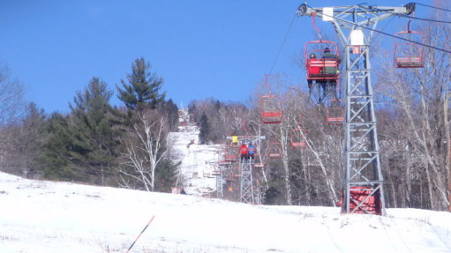Old style lifts, old style trails, and old fashioned fun define Black Mountain (David Shedd photo)