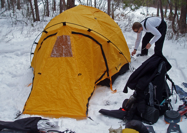 Backcountry 3-Person ... & Camping Tent Shop: L.L. Bean Backcountry 3-Person Dome Tent