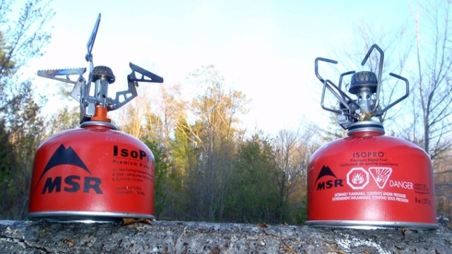 Small but mighty, the Brunton Raptor and Snow Peak Giga GS-100A stand tall in the backwoods (David Shedd photo)