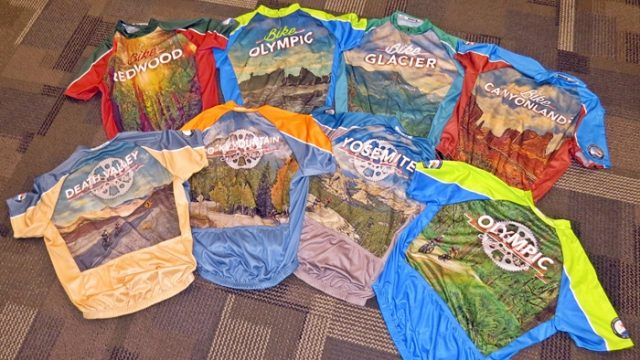 Atayne's superb sublimated graphics make their National Parks bike jersey series sing. (EasternSlopes.com)