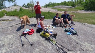 A perfect day for a mountaintop picnic! (David Shedd photo)