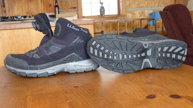 The Tuckerman Sport Boot from L.L. Bean looks pretty normal...but in use, it's super! (Warner Shedd photo)