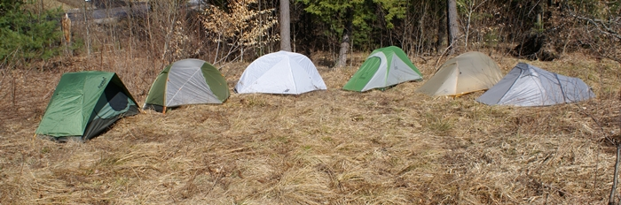 Pick your favoriteu2026any of these solo tents will open new worlds on your backpacking trips! (Tim Jones/EasternSlopes.com photo) & Solo Tents Reviewed For Backcountry Backpacking