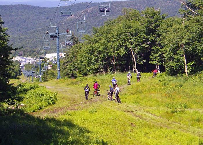 Attitash Mountain Biking