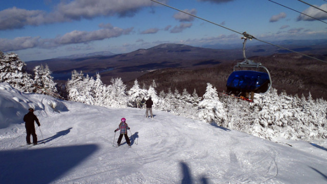 Mount Snow Bubble Chair Giving Skiers A New Lift