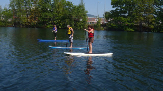 SUP is easy to learn and lots of fun. (Tim Jones photo)