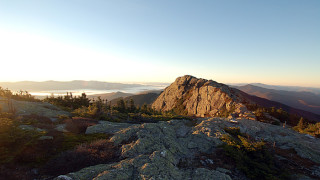 "The top of Mount Mansfield is a series of high points, with ""The Chin"" being the official summit, (Tom Anderson)"