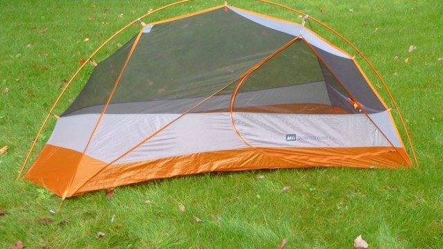 Not just a pretty face, the REI Quarter Dome 1 tent has room, light weight, great features, and a surprisingly low price. (EasternSlopes.com)