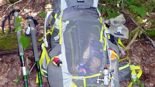 We loaded the Granite Gear Lutsen 45, abused it in every way we could think of, and it came through as one of our favorite midsized packs. (EasternSlopes.com)