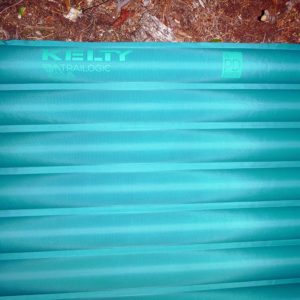 The Kelty PDa Air Chamber Sleeping Pad has smaller chambers with larger gaps that provide more benefits than we'd dreamed they would. (EasternSlopes.com photo)