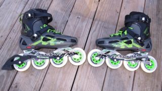 Catchy to look at, the Rollerblade Maxxum 90s turned out to be an incredible upgrade over what we were used to! (EasternSlopes.com)