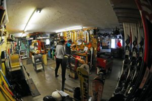King Pine Ski Area Tune Shop