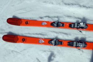 We don't often fall for a pretty face, but we did love the wicked cool tips on the Rossignol SEEK 7. Oh, and they're even functional! (EasternSlopes.com)