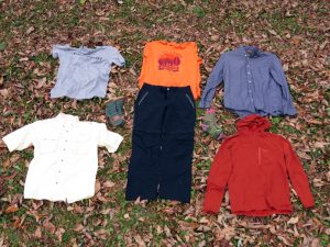 "We sent a broad range of clothing in to Insect Shield for treatment, from socks to ""decent"" shirts and pants."