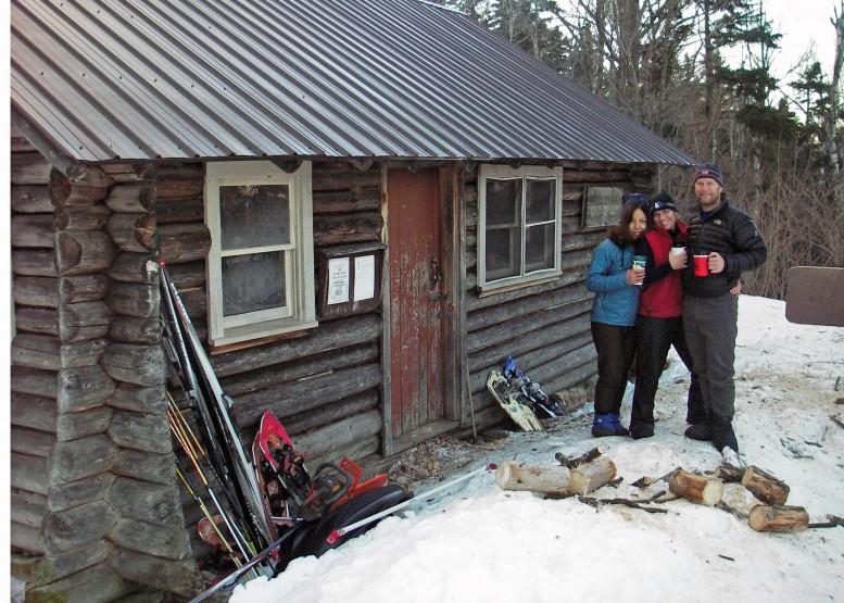 Black Mountain Cabin Winter Adventure White Mountains