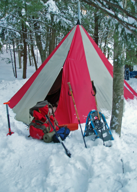 Warm/Cold Winter Backpacking