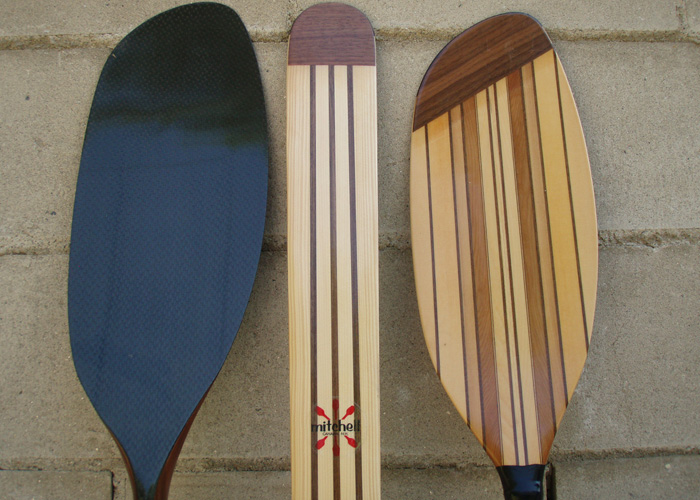 Gallery Wooden Kayak Paddles
